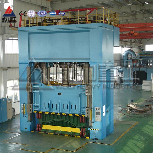 315吨粉末颗粒压装成型四柱框式液压机齿轮泵泄露分析
