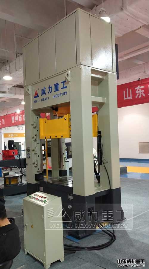 金属冶金粉末成型伺服框架式液压机