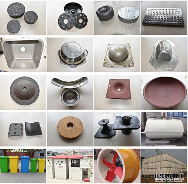 数控伺服框架式液压机粉末成型产品